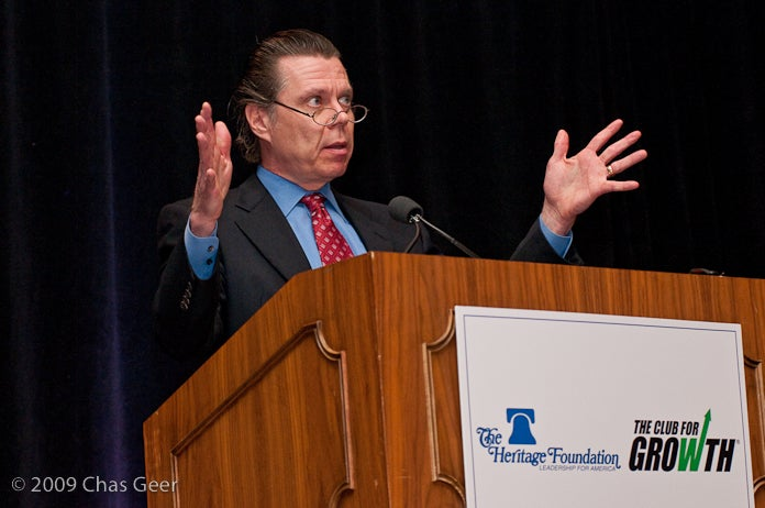 Dr. Don Boudreaux at the Heritage Foundation