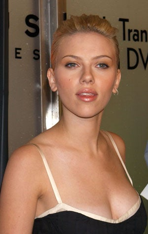 Actor SCARLETT JOHANSON