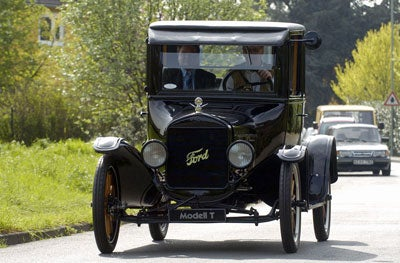 A Ford model T