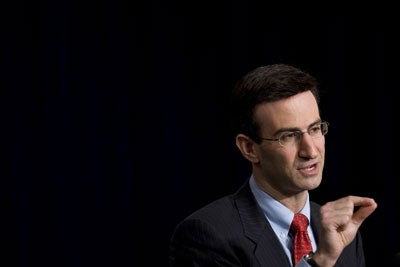 White House Director of the Office of Management and Budget Peter Orszag