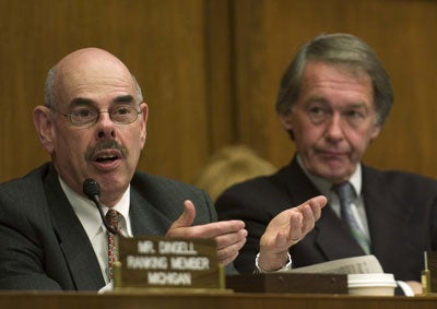 Edward J. Markey, D-Mass. and Henry A. Waxman, D-Calif.