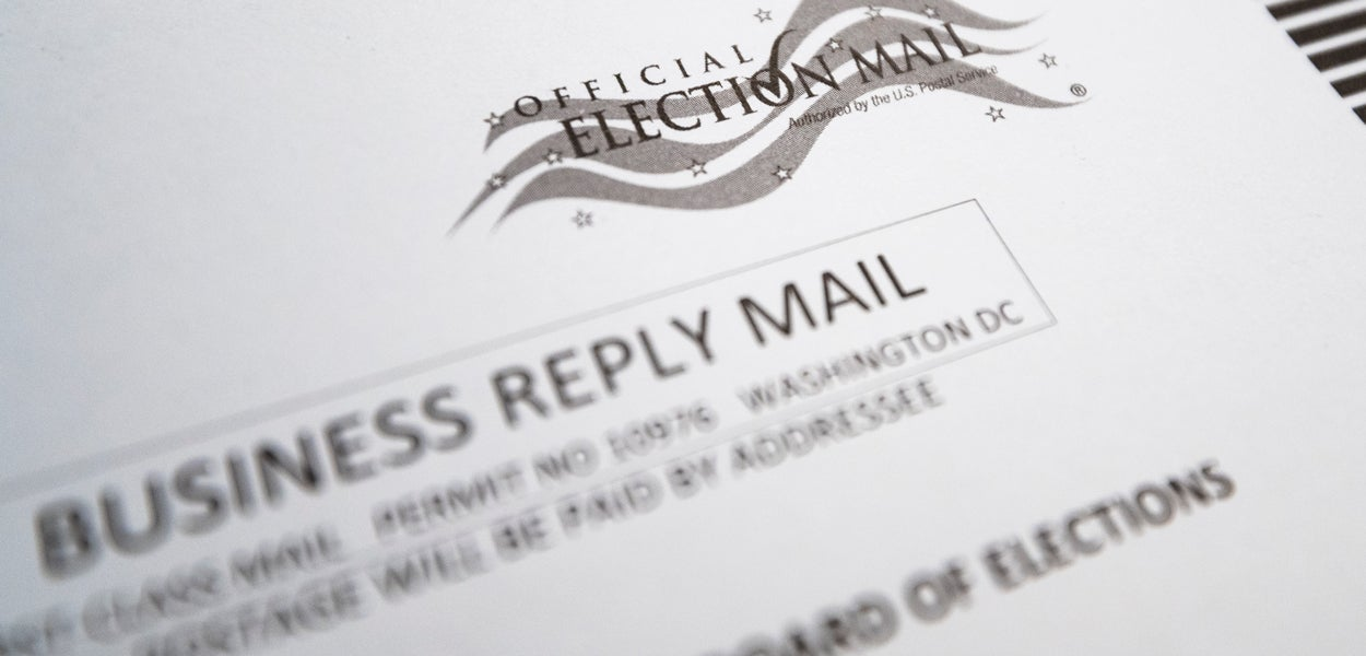 VOTER FRAUD & VOTING BY MAIL cover image