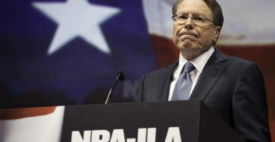 NRA chief executive Wayne LaPierre. (Photo: F. Carter Smith/Polaris/Newscom)