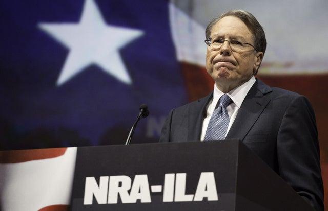 NRA chief executive Wayne LaPierre. (Photo: F. Carter Smith/Polaris/Newscom)