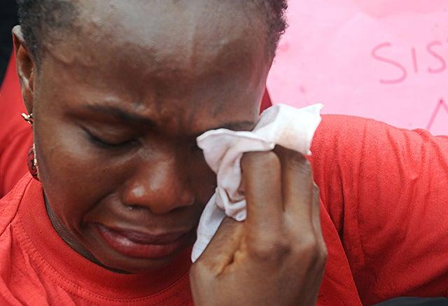 Madre de niña secuestrada en Nigeria