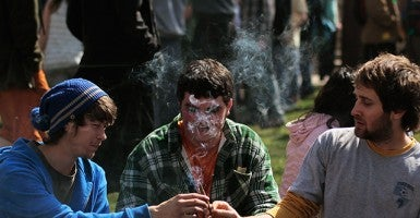 U.S. Marijuana Enthusiasts Gather For Mass Pot-Smoking Celebration