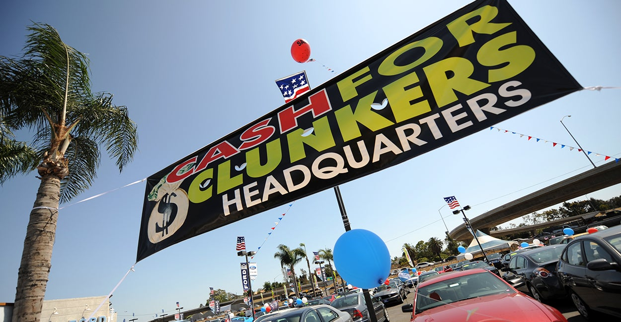 california 39 s cash for clunkers program isn 39 t working