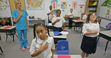 Students at a private Baptist school in Clinton, La. (Photo: Michael S. Wirtz/Newscom)