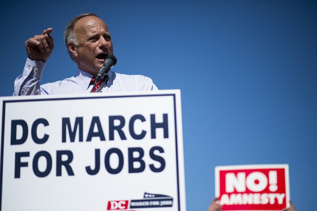 Rep. Steve King (Credit: Bill Clark/CQ Roll Call/Newscom)