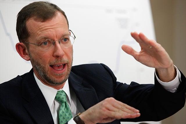 Congressional Budget Office Director Douglas Elmendorf / Chip Somodevilla