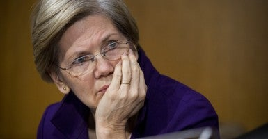 Senator Elizabeth Warren (Credit: Credit Tom Williams/CQ Roll Call/Newscom)