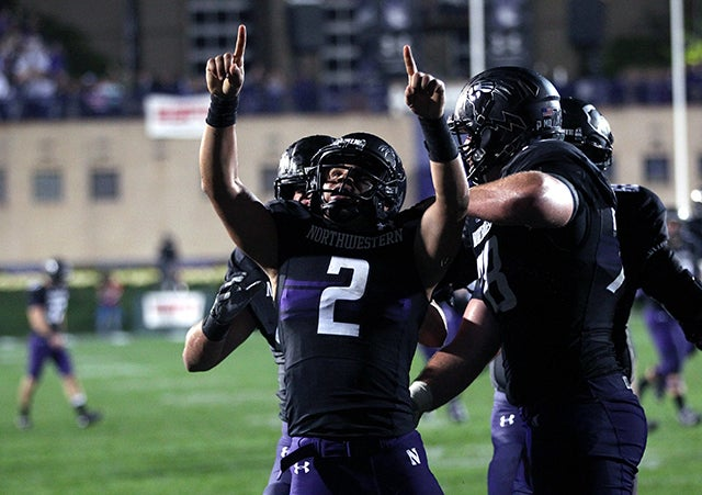 Northwestern quarterback Kain Colter. Photo: Chris Sweda/MCT/Newscom
