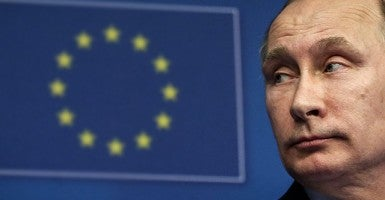 Russian President Putin and top EU officials meet for trust-building summit