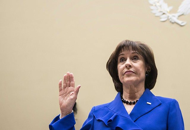 Lois Lerner (Photo: Brendan Smialowski/AFP/Newscom)