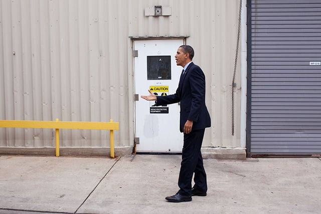 Photo credit: Pete Souza