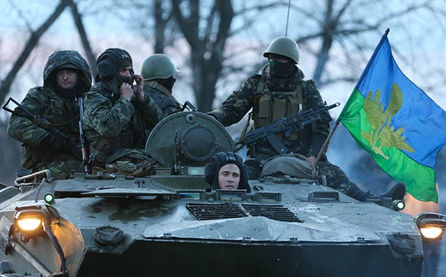 Photo: Pochuyev Mikhail Itar-Tass Photos/Newscom