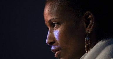 Ayaan Hirsi Ali, founder and president of the AHA Foundation, a non-profit humanitarian organization dedicated to help protect and defend the rights of women in the West from oppression. (Photo: Newscom)