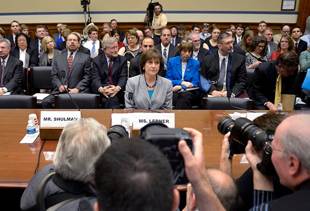Lois Lerner. Photo: EPA/SHAWN THEW/Newscom
