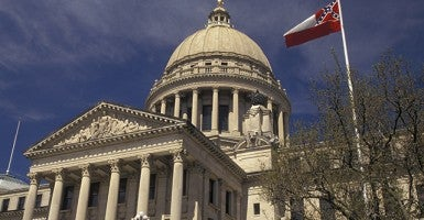 State Capitol, Jackson, Mississippi. Photo: Newscom