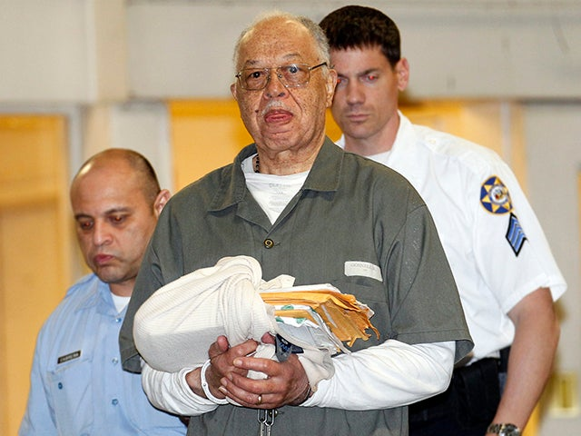 Kermit Gosnell, 72, center, after being convicted on three counts of first-degree murder on May 13, 2013, in Philadelphia, Pennsylvania. (Yong Kim/Philadelphia Inquirer/MCT/Newscom)