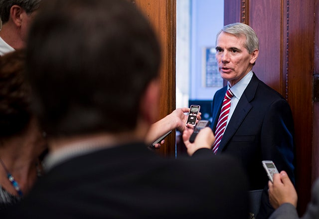Sen. Rob Portman (R-Ohio). (Photo: Bill Clark/CQ Roll Call/Newscom)