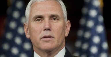 Indiana Gov. Mike Pence (Photo: Pete Marovich/ZUMAPRESS.com/Newscom)