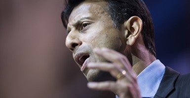 'I think we need to phase it out,'  Louisiana Gov. Bobby Jindal says  of the 81-year-old agency. (Photo:  Brendan Smialowski/AFP/Getty Images/Newscom)