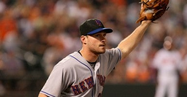 Second baseman for the New York Mets, Daniel Murphy. (Photo: Keith Allison)