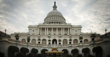 The U.S. Capitol building, home of both houses of American government. (Photo: Newscom)