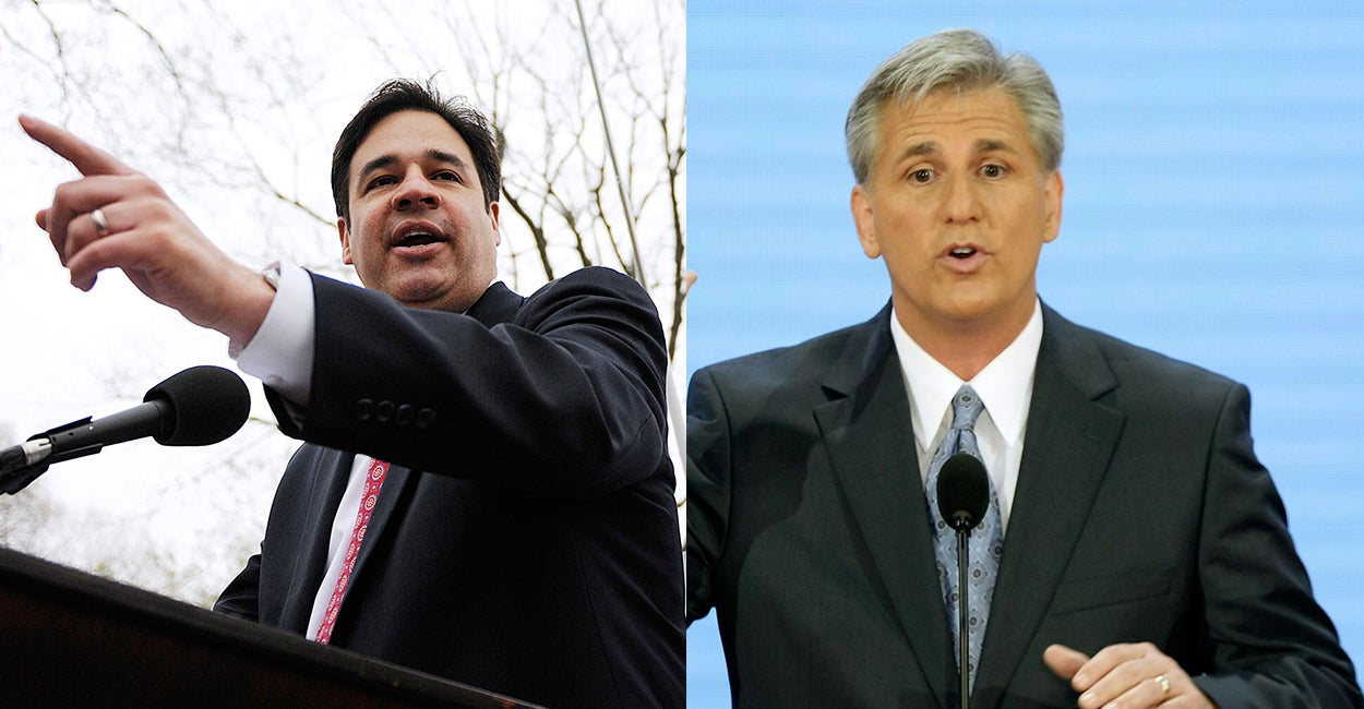 Raúl Labrador Takes On Kevin McCarthy For House Majority Leader