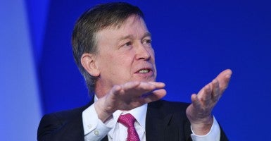 Colorado Gov. John Hickenlooper (Photo: Mandel/AFP/Newscom)