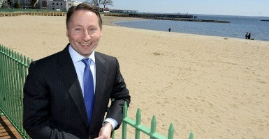 Rob Astorino, who has recently won a second term as the Westchester County Executive, has entered the New York governor's race as a Republican candidate (Photo: Harbus/Polaris/Newscom).