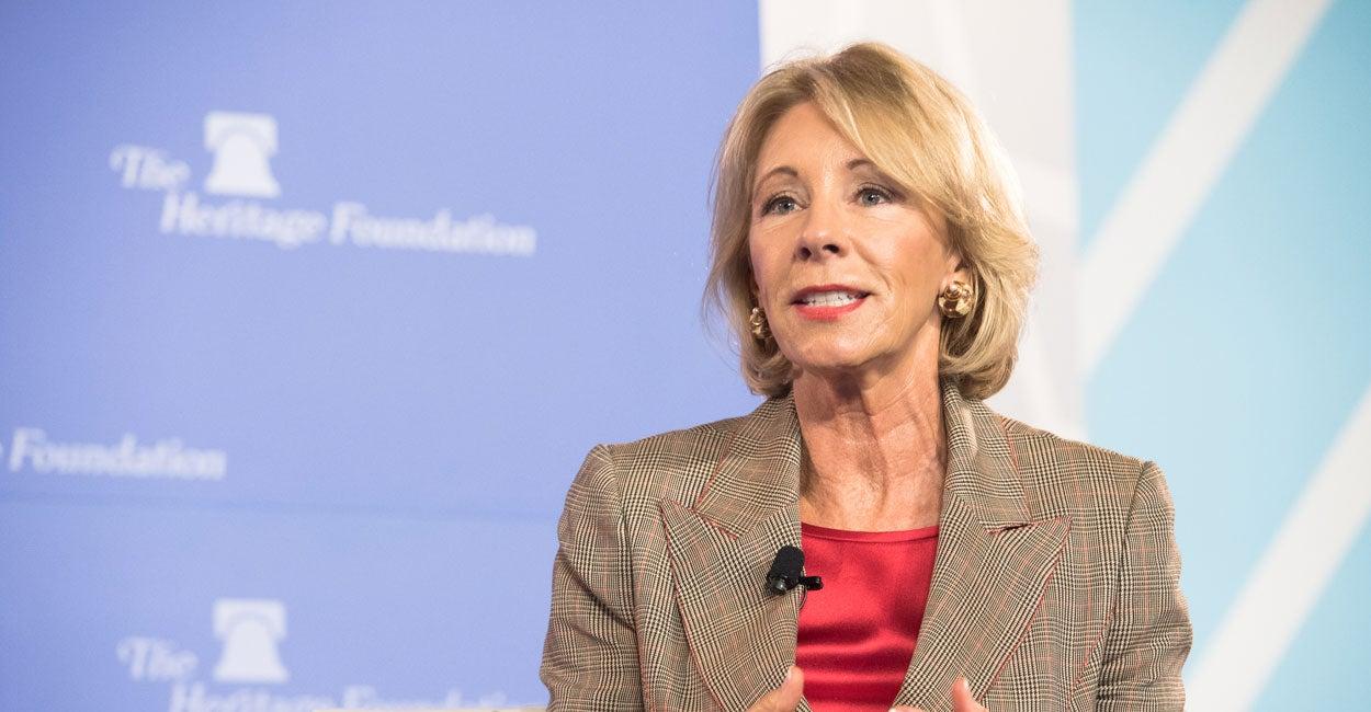 Why Do Millennials Like Socialism? Betsy DeVos Cites Lack of Civics Education