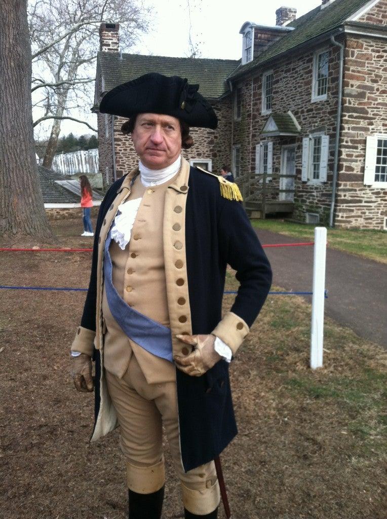 'Mr. George Washington' (Photo: Courtesy Kevin Mooney)
