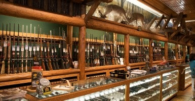 The last gun store in San Francisco announced it is closing down after city legislators introduced a bill that would require the shop to video record each gun sale and transmit weekly reports on ammunition sales to the police. (Photo: Marcin Wachary/Flickr/CC BY-NC 2.0)