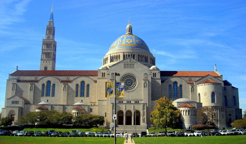 Catholic University of America campus in Washington, D.C.