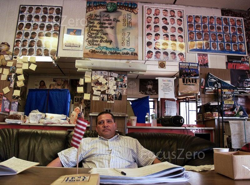 Barber Shop Fresno : Flavor Hair Barber Shop (Photo: Valerian Mazataud/FocusZero/Creative ...