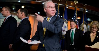 Rep. Tom Price, R-Ga., chairman of the House Budget Committee. (Photo: Tom Williams/CQ Roll Call/Newscom)