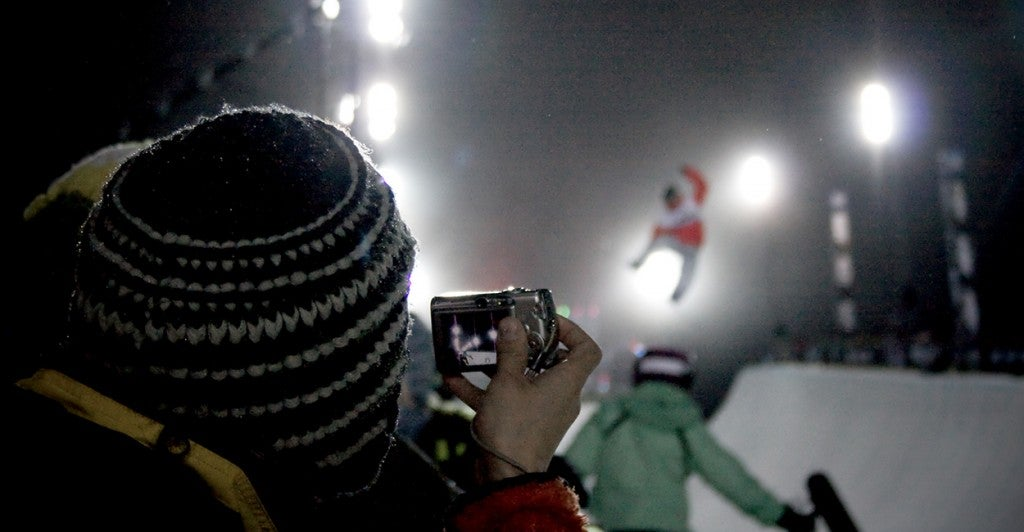 Men's Super Pipe event at the Winter X Games. (Photo: Eric Magnuson/CC BY-NC-SA 2.0)