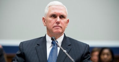 Gov. Mike Pence, R-Ind. (Photo: Bill Clark/CQ Roll Call/Newscom)