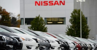 Nissan received a loan from the Energy Department. (Photo: CJ Gunther/EPA/Newscom)