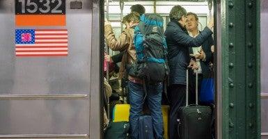 New York City subway car. (Photo: Richard B. Levine/Newscom)
