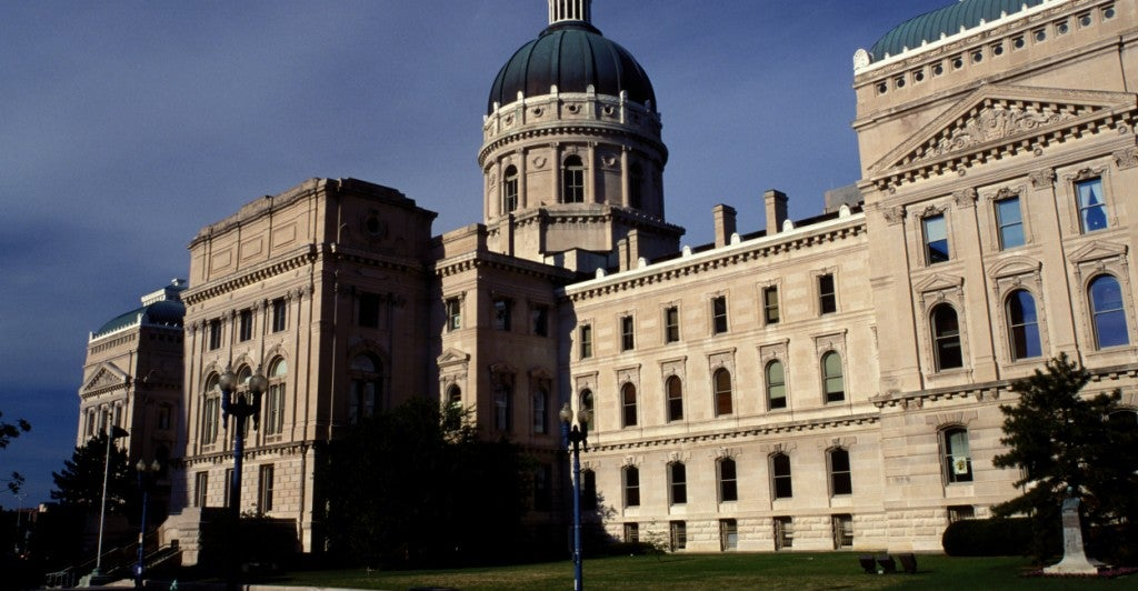 The Indiana Statehouse (Photo: Andre Jenny Stock Connection Worldwide/Newscom)