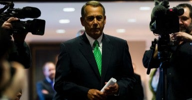 House speaker John Boehner, R-Ohio. The House passed the 'Doc Fix' bill in March. (Photo: Jim Lo Scalzo/EPA/Newscom)