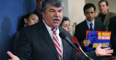 AFL-CIO's Richard Trumka. (Photo: Lenin Nolly/NOTIMEX/Newscom)