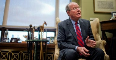 Sen. Lamar Alexander. (Photo: Tom Williams/CQ Roll Call/Newscom)