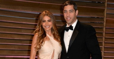 Sofia Vergara and Nicholas Loeb in 2014. (Photo: Patrick McMullan Co./McMullan/Sipa USA/Newscom)