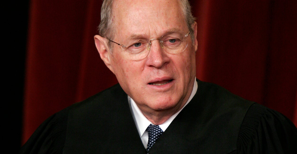Justice Anthony Kennedy. (Photo: Chuck Kennedy/KRT/Newscom)