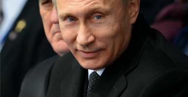 Vladimir Putin. (Photo: Abaca Press/Briquet Nicolas/Sipa USA/Newscom)