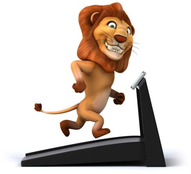 lion treadmill